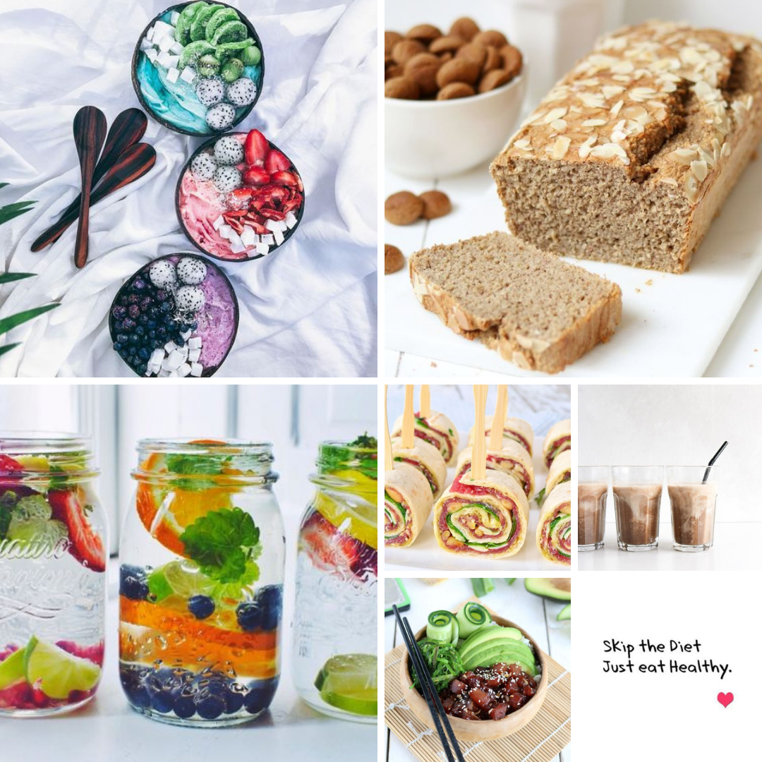 Foto collage PNG - Healthy food
