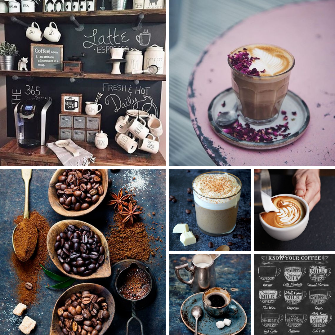 Foto collage PNG - Koffie