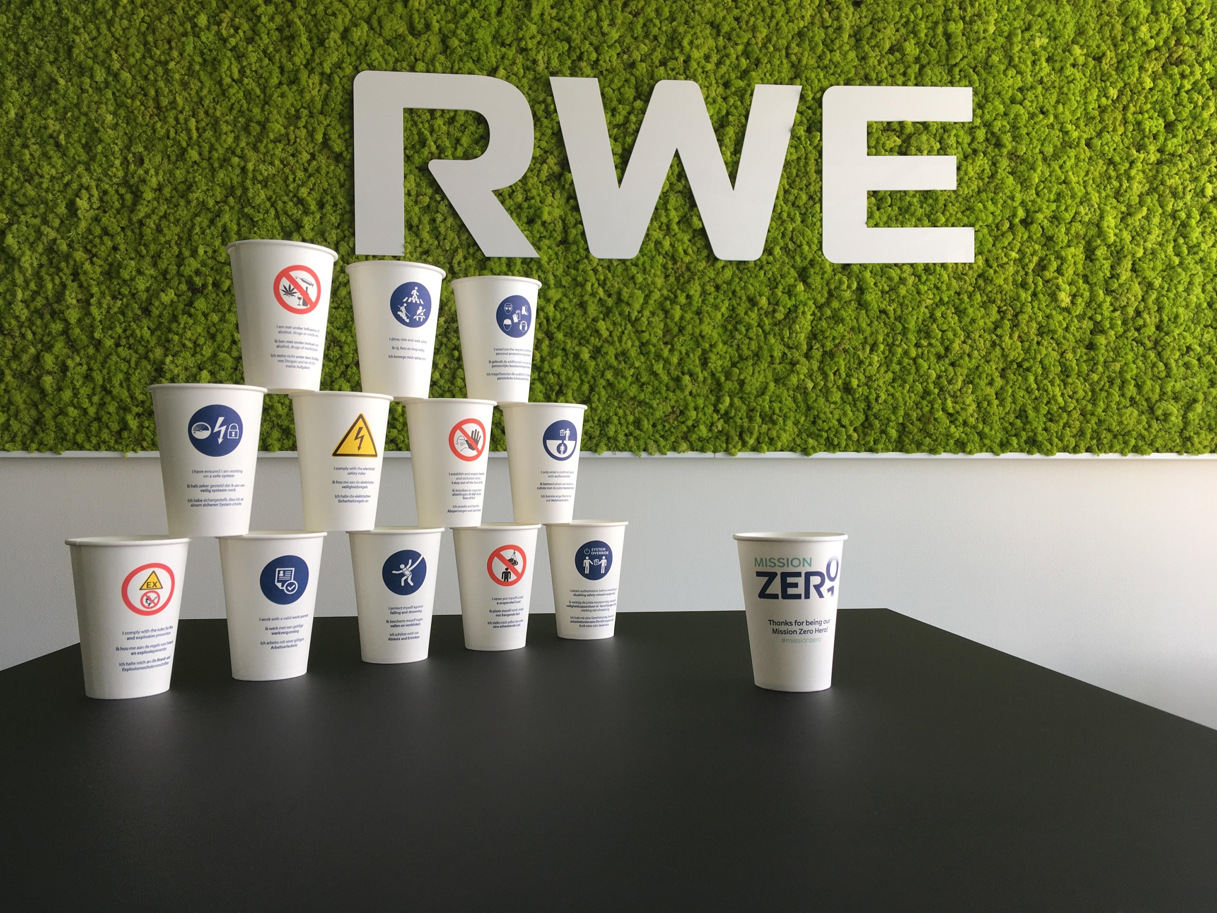 Begin je werkdag veilig bij RWE met één van de 12 Life Saving Rules