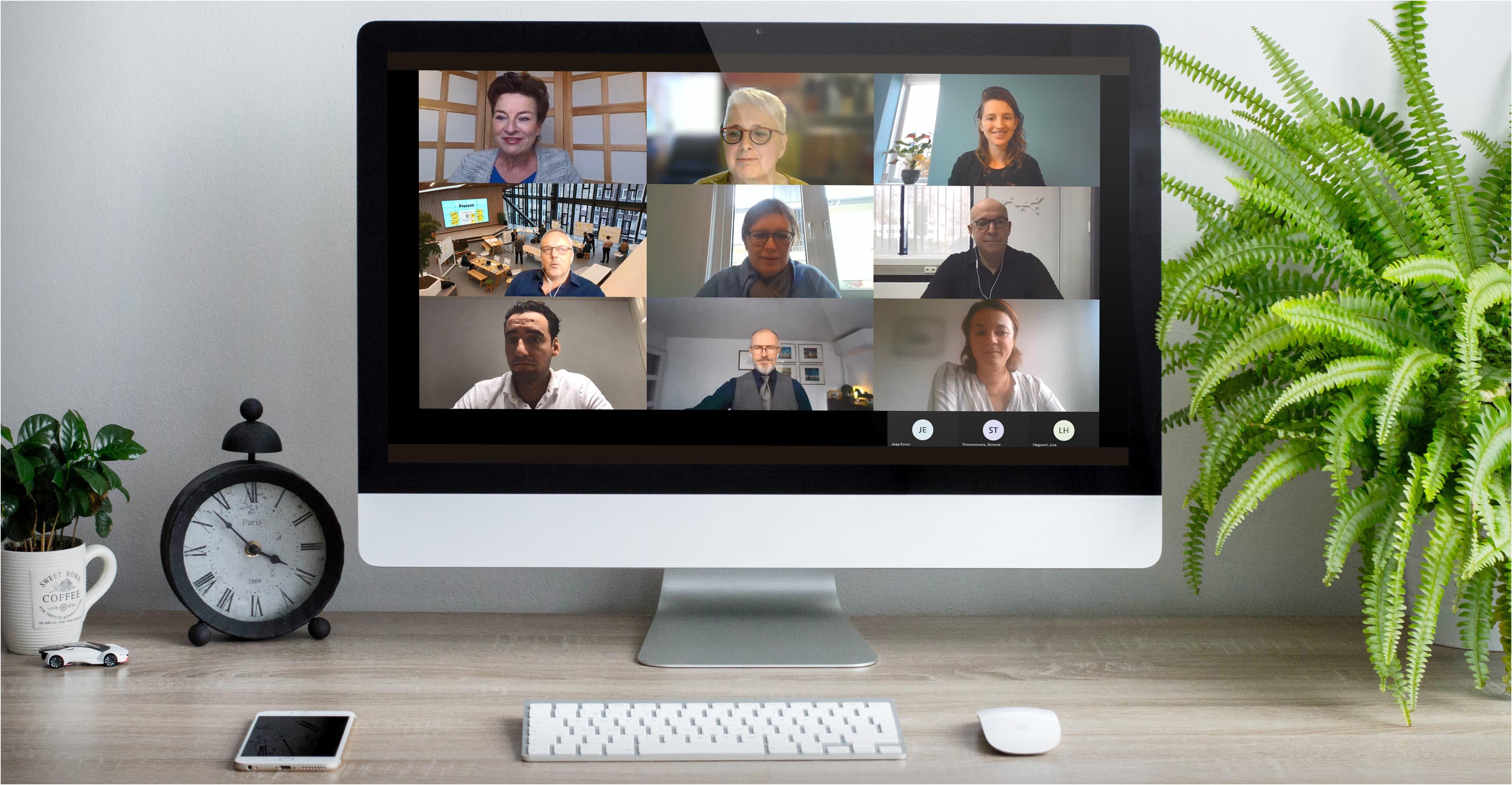 In gesprek met vakgenoten: terugblik digitaal debat 'The Future Workspace' van HEYDAY