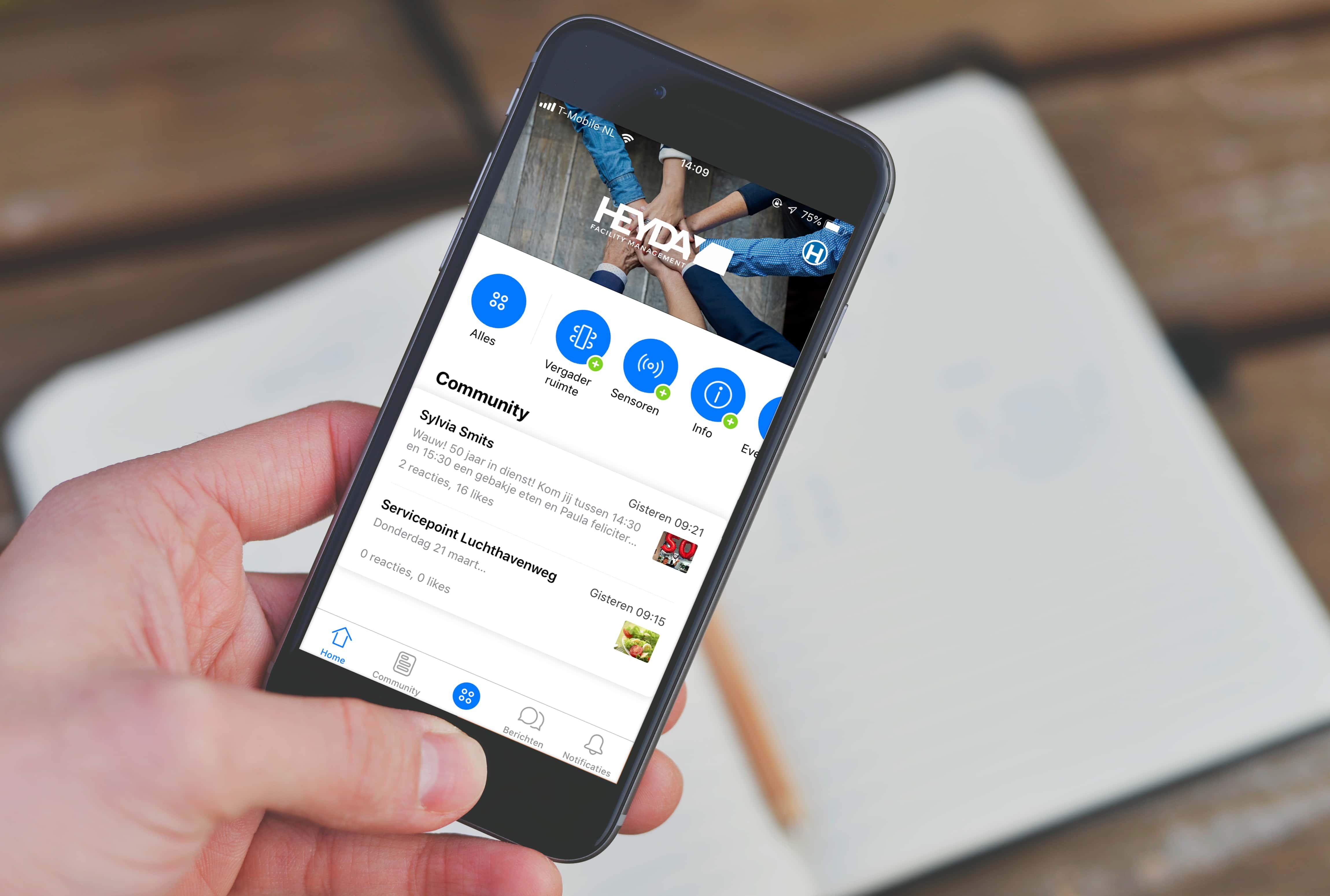 HEYDAY en Office App lanceren facilitaire gemaksapp 2.0