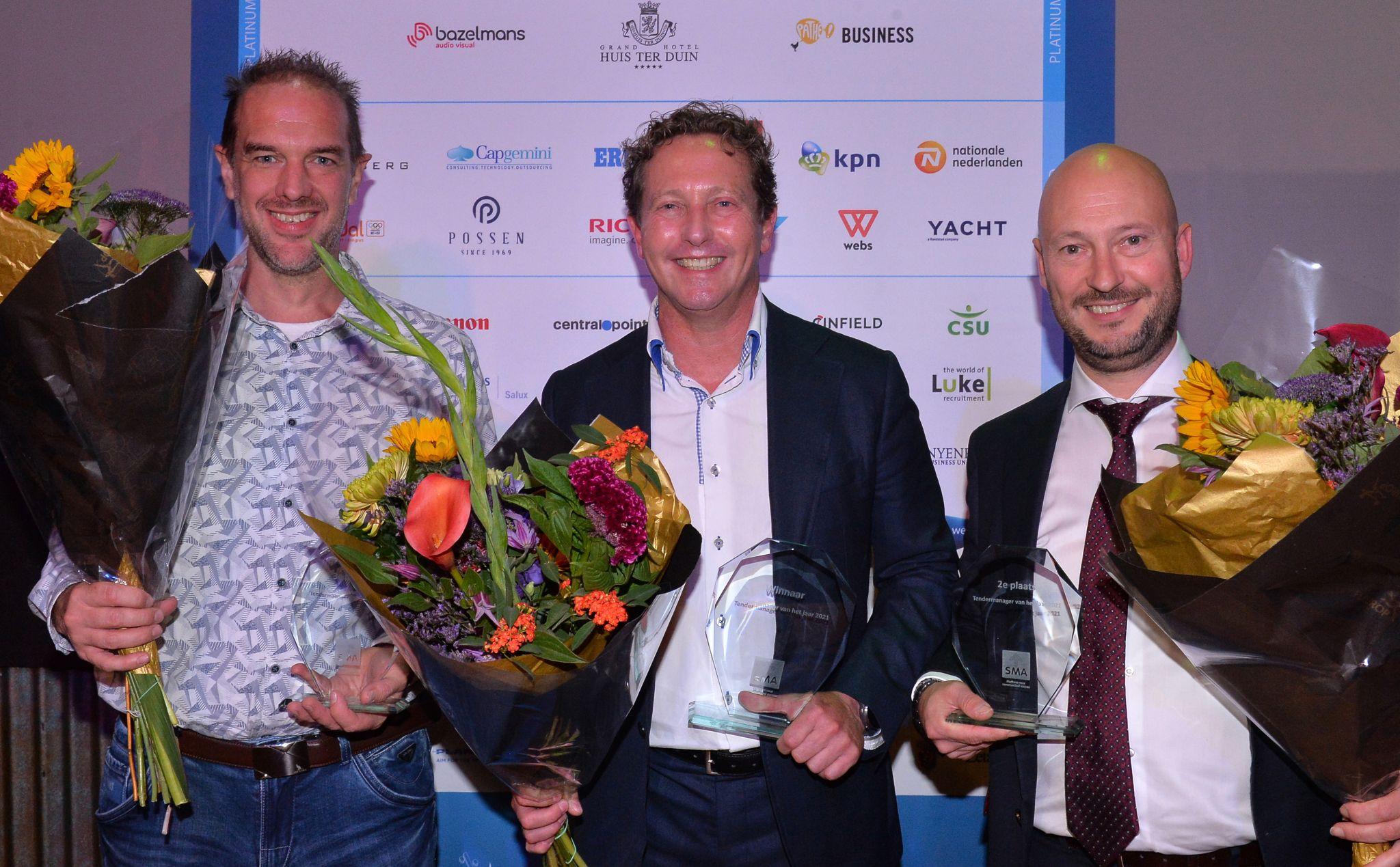 Marco van Dongen (HEYDAY ) is Tendermanager van het Jaar 2021