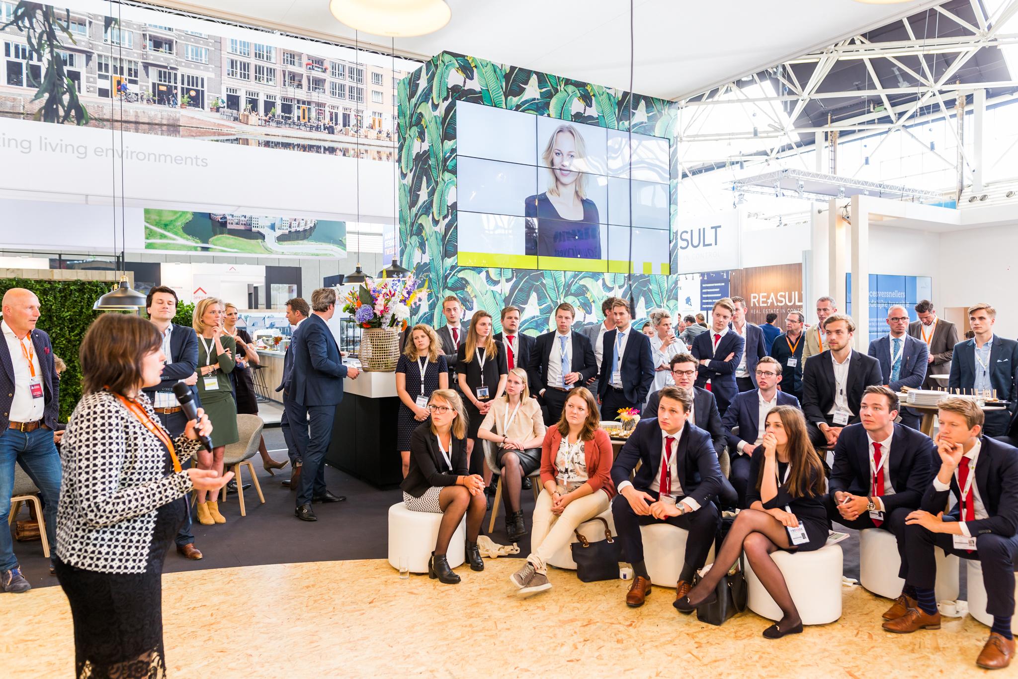 HEYDAY en Amvest presenteren service- en community conceptop PROVADA 2019